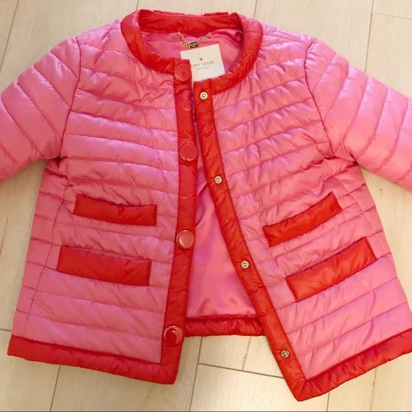 kate spade Jackets & Blazers - Kate Spade Feminine Puffer Jacket